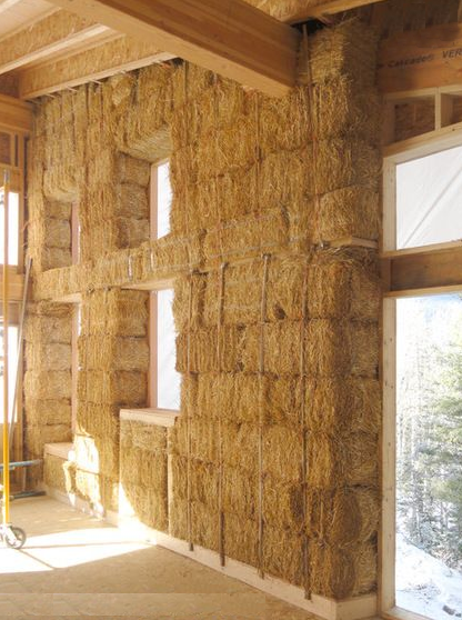 costruire case in paglia