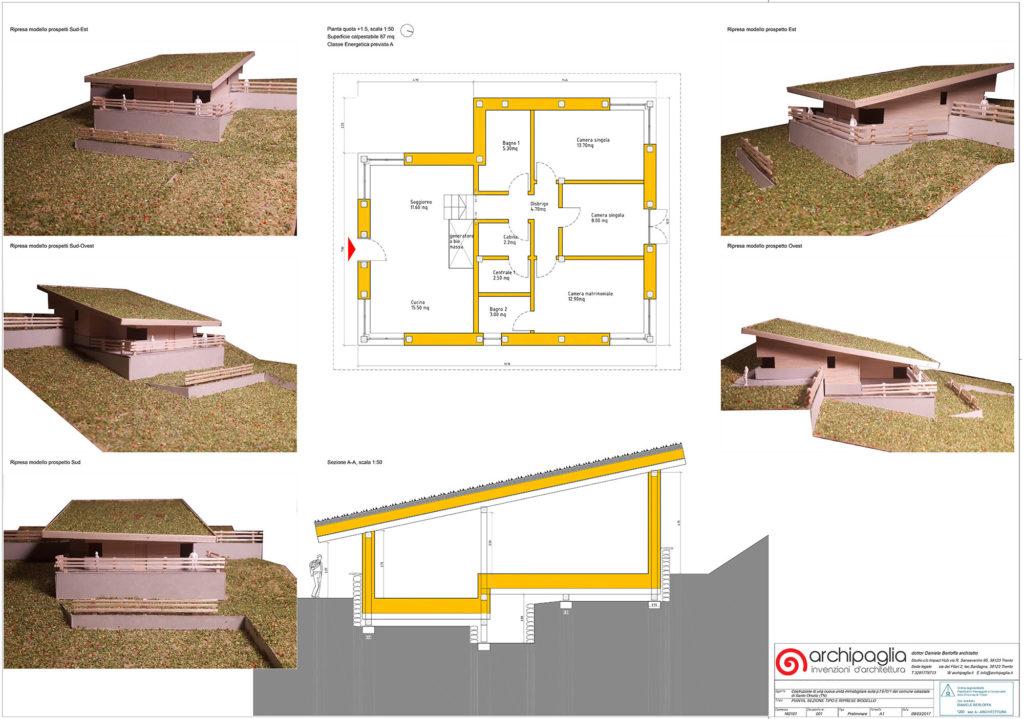 progettazione casa in paglia trentino